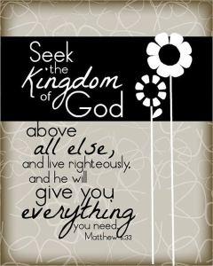 Seek-the-Kingdom