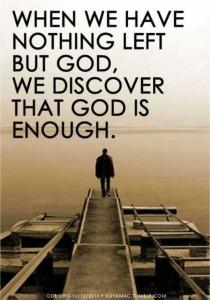 god-is-enough