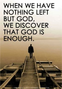 god-is-enough