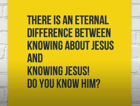 know-jesus